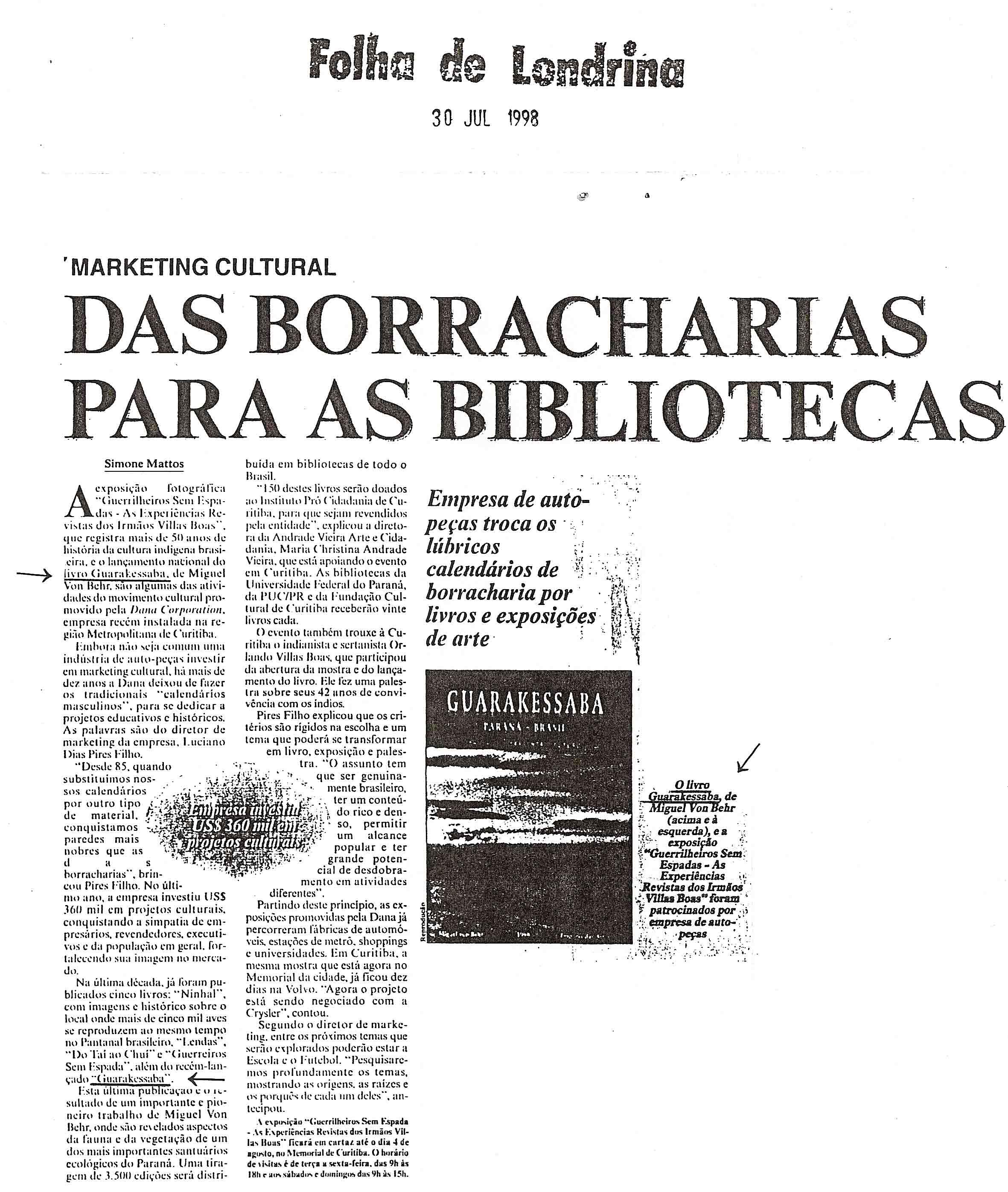 matéria Guarakessaba