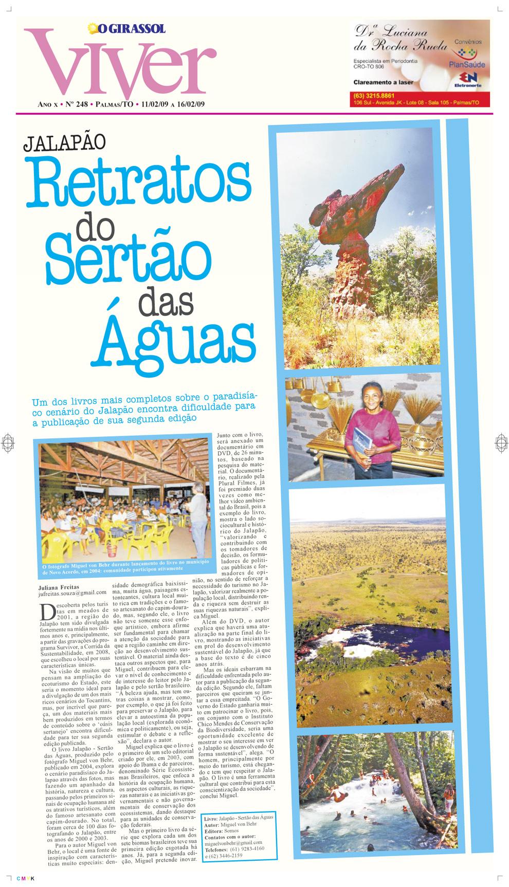 Jornal O Girassol, Palmas-TO